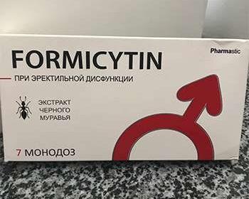 Средство Формицитин на столе