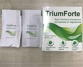 Упаковка и шасе ТриумФорте от паразитов